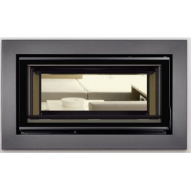 CARBEL FIREPLACE INSERT C.100  DOUBLE SIDED